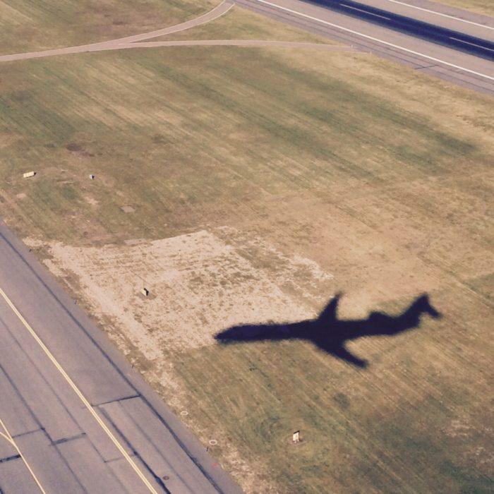Landeanflug auf Stockholm Arlanda